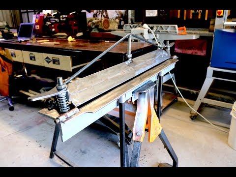 Sheet Metal Folder Improvements - Forme Industrious
