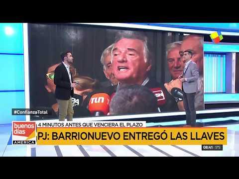 Gioja recuperó las llaves del PJ y se quejó de que bajaron los cuadros de Evita, Perón, Néstor y Cristina