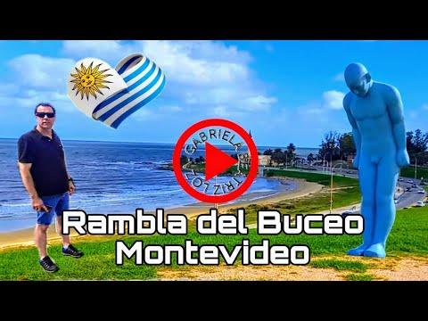 Montevideo Uruguay. desde buceo hasta  atrás Montevideo  shoping world trade center. Montevideo.