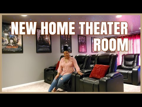 HOME THEATER   DIY Home Theater Decor   Home Movie Theater Room