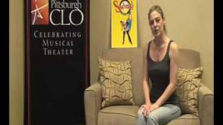 Lori Barber - Behind the Scenes - Pittsburgh CLO Swing! Interview