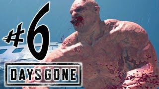 DAYS GONE - Parte 6: O Zumbi GIGANTE!!!  [ PS4 Pro - Playthrough ]