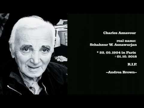 Charles Aznavour Live You`ve Got To Learn English/Deutsch/Portugues Lyrics