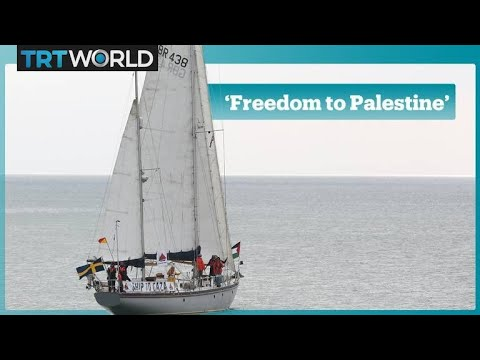 'Freedom For Palestine' Flotilla Aimed To Break Israel's Gaza Blockade Arrives In Britain