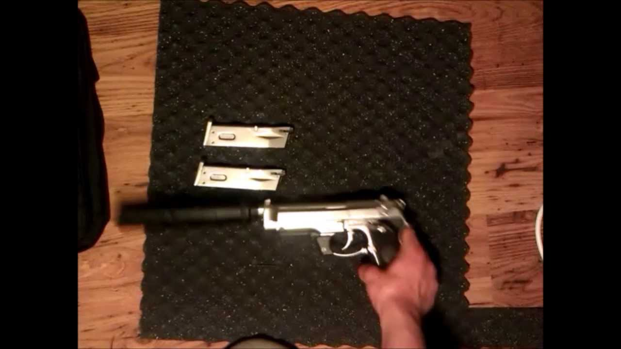 WE tech Beretta m92 accessories