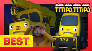 Titipo English Episodes   Fix and Lift Are Busy Bees   The Train Town Trio   Windstorms Are Scary