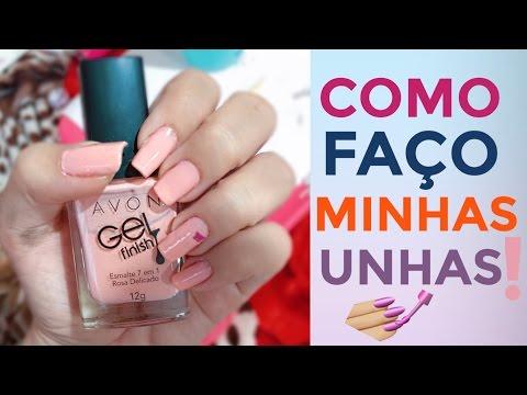 COMO FAÇO MINHAS UNHAS SOZINHA! ( ATUALIZADO) - #UNHASDABELA