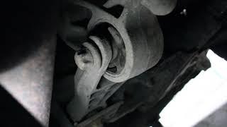 диагностика задней подушки двигателя Opel Corsa C Z14XEP