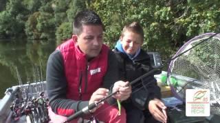 Pêche du sandre sur le lac de Mervent