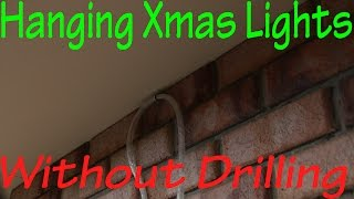 Gambar cover Hanging Christmas Lights Without Drilling in to Bricks