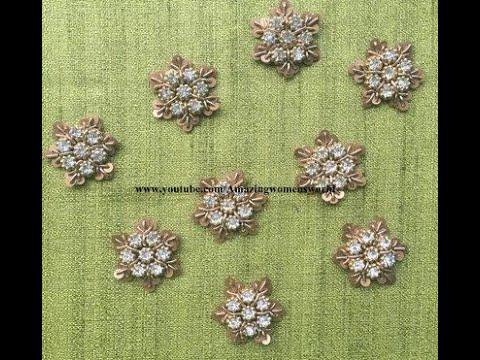 most-beautiful-overall-designer-buti-using-normal-needle---aari/maggam-work/-embroidery