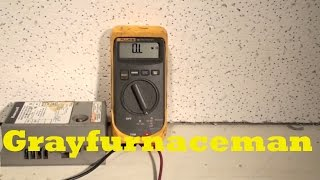 How to use a multimeter for HVAC part 5
