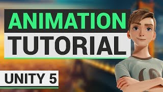 animation tutorial in unity 5