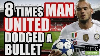 8 Times Man United Dodged A Bullet