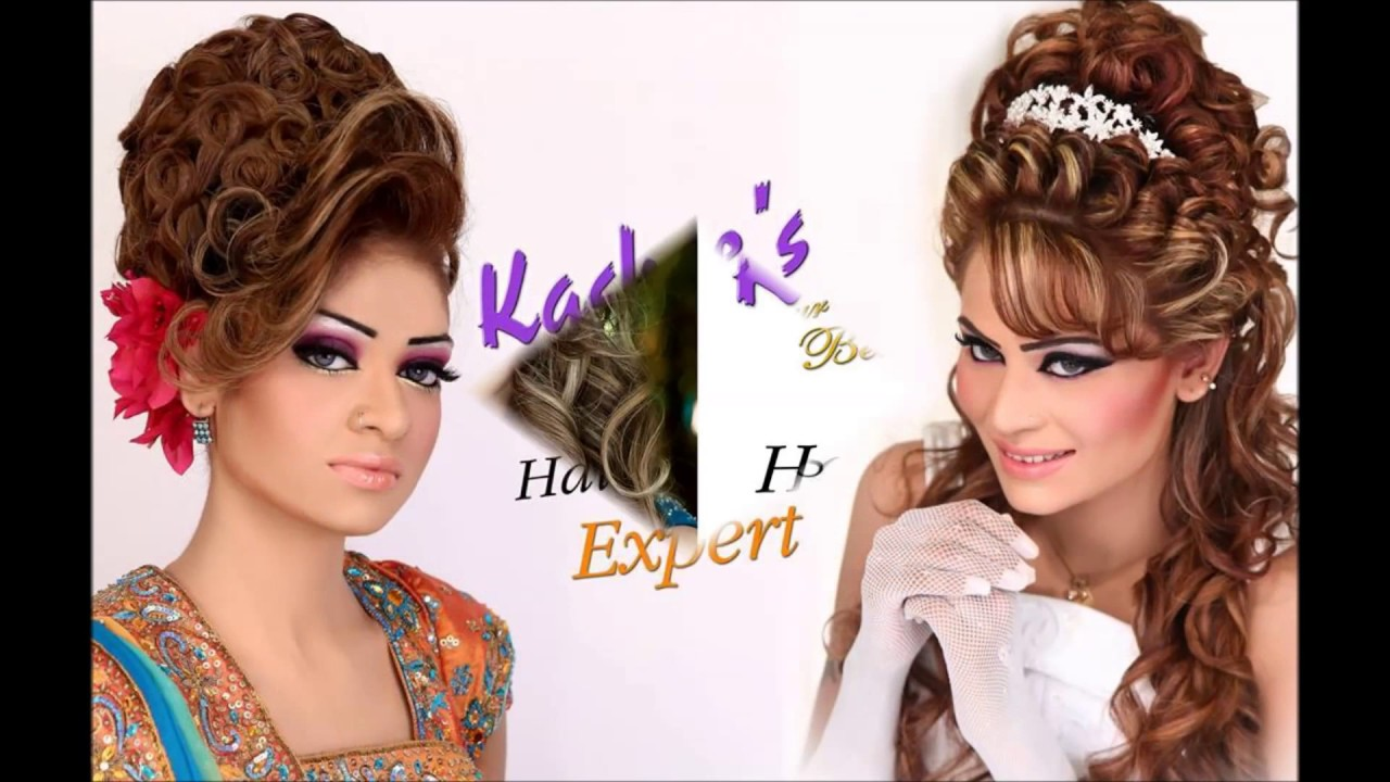 Mehndi Hairstyles S : Kashee s awe inspiring hair style v hd youtube