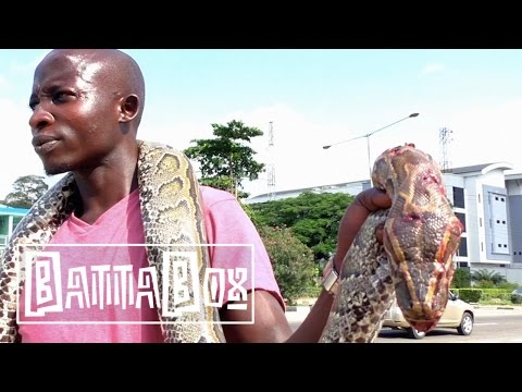 CRAZY: man sells HUGE snake in Nigeria