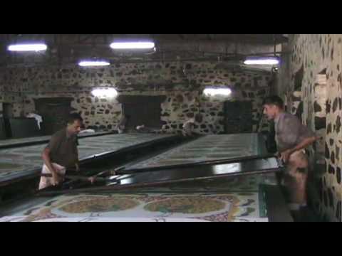 Jaipur, India:  Silk Screen Factory