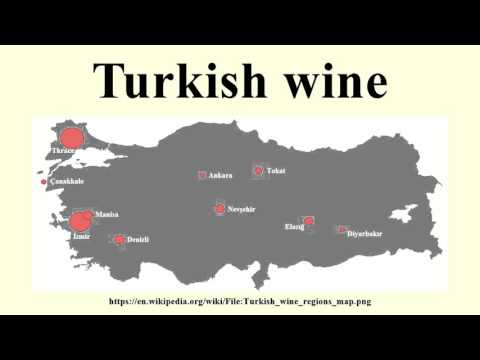 Turkish wine