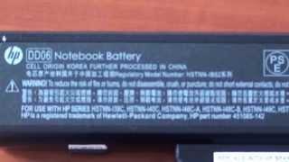 Оригинальный аккумулятор для ноутбука и копия  Визуальная разница(, 2013-07-11T06:29:53.000Z)