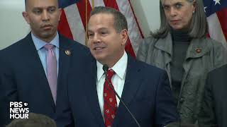 WATCH LIVE: House Democrats hold news conference as impeachment trial looms