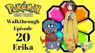 Pokemon Yellow Episode 20 Erika
