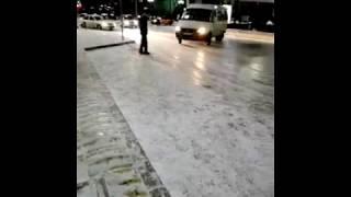 Как останавливаются маршрутки в Дагестане