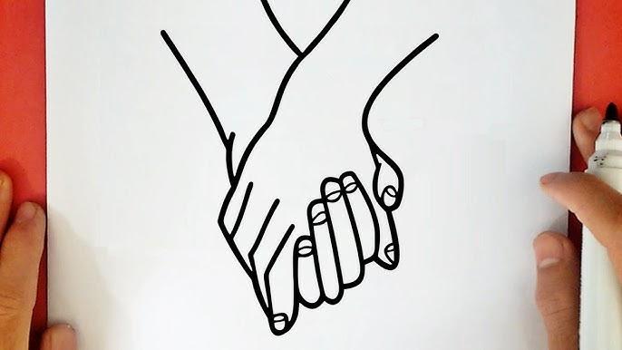 Comment Dessiner Des Mains Entrelacees Tumblr Youtube
