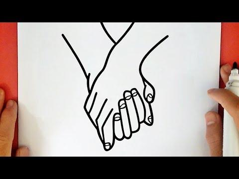 Comment Dessiner Des Mains Entrelacées Tumblr Youtube