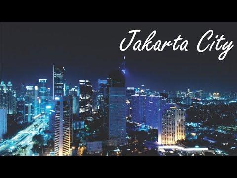 Jakarta Drone 2018, Video Udara Malam Hari Kota Terbesar Di Indonesia - Jakarta Skyline
