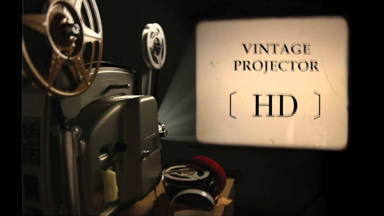 Vintage Movie Projector | Sound Effect | Feel The Past Film Industry