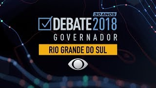 Debate para governo do Rio Grande do Sul