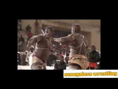 Senegalese Wrestling : Gray Bordeaux vs Baye Mandione