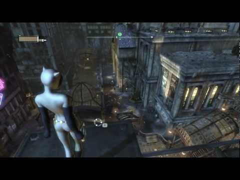 Batman: Arkham City Walkthrough HD - Chapter 28: Catwoman vs. Two-Face (Animated Series Costume)