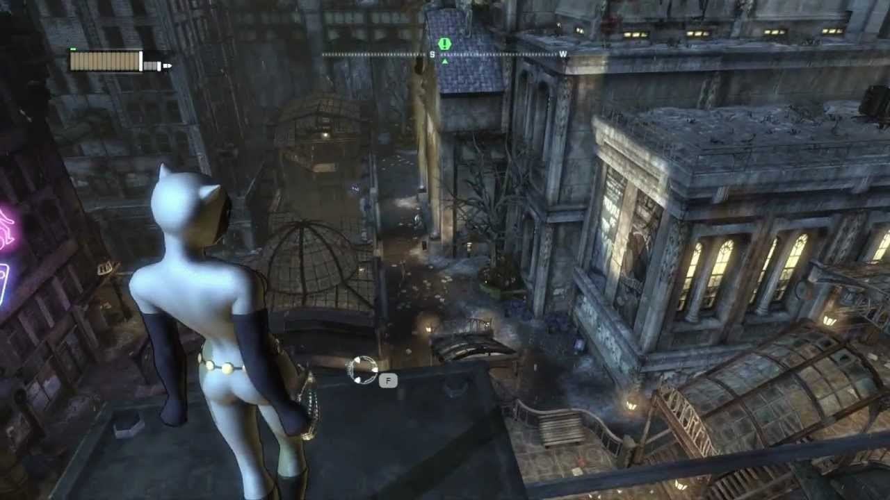 Batman Arkham City Walkthrough HD - Chapter 28 Catwoman vs. Two-Face (Animated Series Costume) - YouTube & Batman: Arkham City Walkthrough HD - Chapter 28: Catwoman vs. Two ...