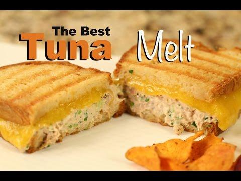 The Best Tuna Melt Sandwich Recipe On Sourdough Bread | Rockin Robin Cooks