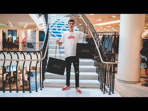 Expensive Designer Streetwear Shopping! (Gucci, Off-White & Fear of God)