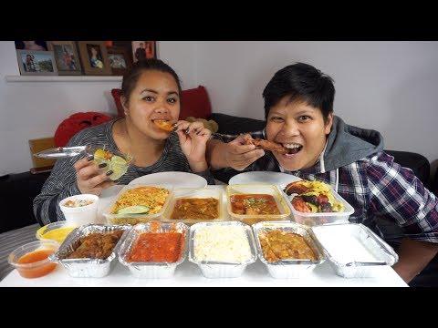 Bangladeshi Food Mukbang | Biryani, Machher Jhol, Mixed Grill and Meat Thali | Eating Show!