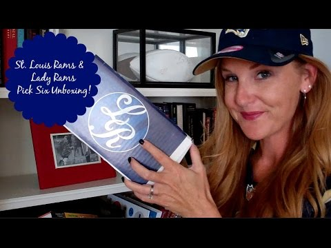 St. Louis Rams & Lady Rams Intro + Picked 6 Unboxing!