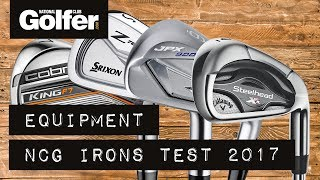 Gear test: The best irons for 2017