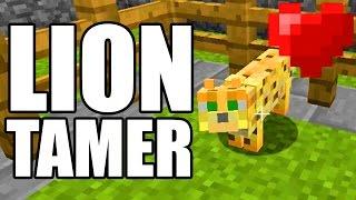 Lion Tamer EASY! Achievement Trophy Guide Minecraft