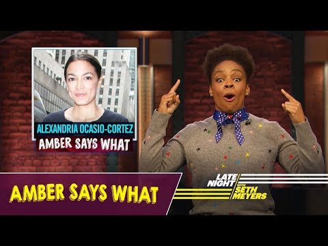 Amber Says What: Midterm Elections, Donald Daters