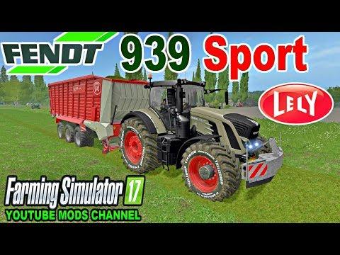 FS | 17 | Mods Fendt 939 Sport And Lely Tigo XR 100D