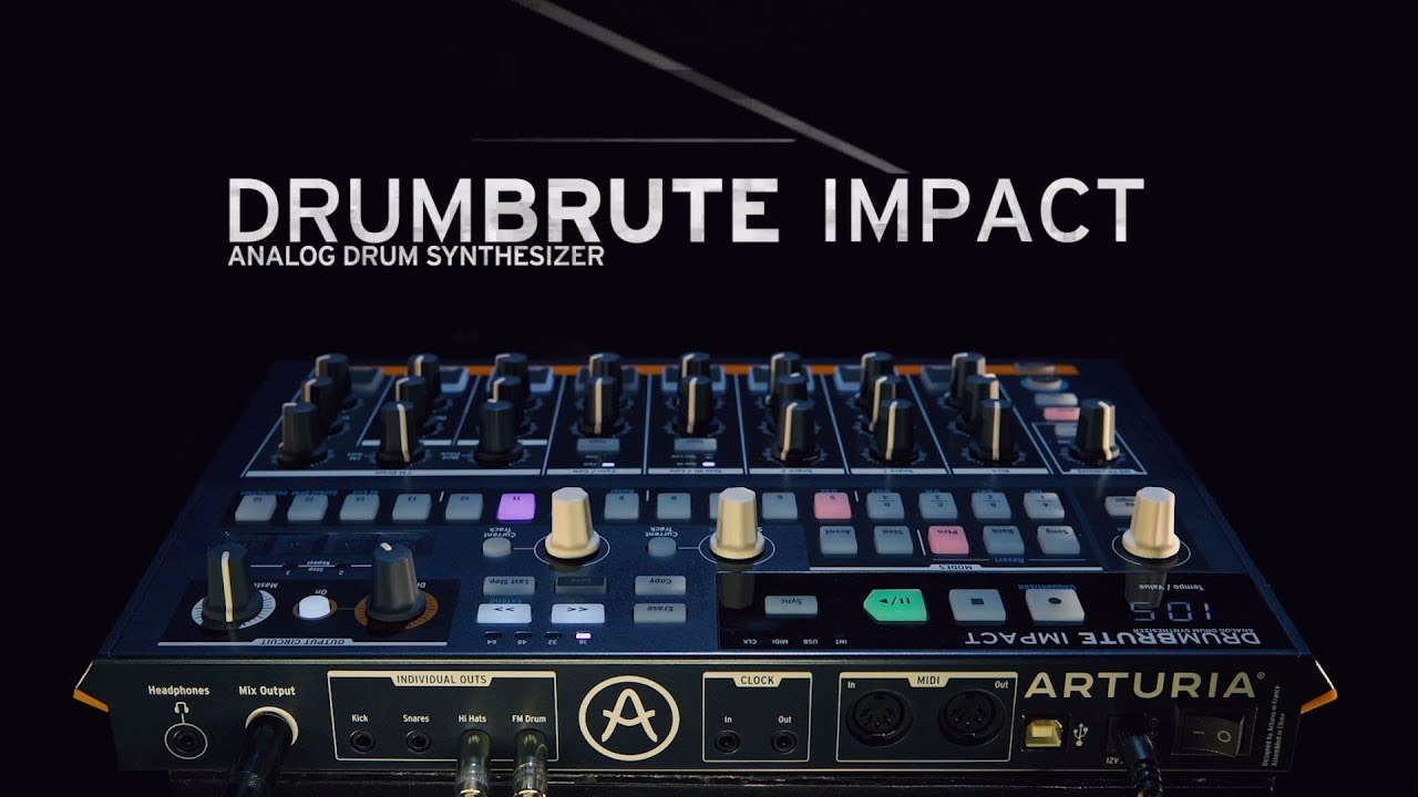 Gearporn: Arturia's DrumBrute Impact Locks Down the Cheap