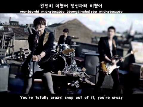 CNBLUE- I'm Sorry MV [eng Subs + Hangul + Romanization] Lyrics