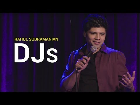 DJs | Stand Up Comedy By Rahul Subramanian