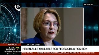 Helen Zille explains decision to contest for DA FedEx chair
