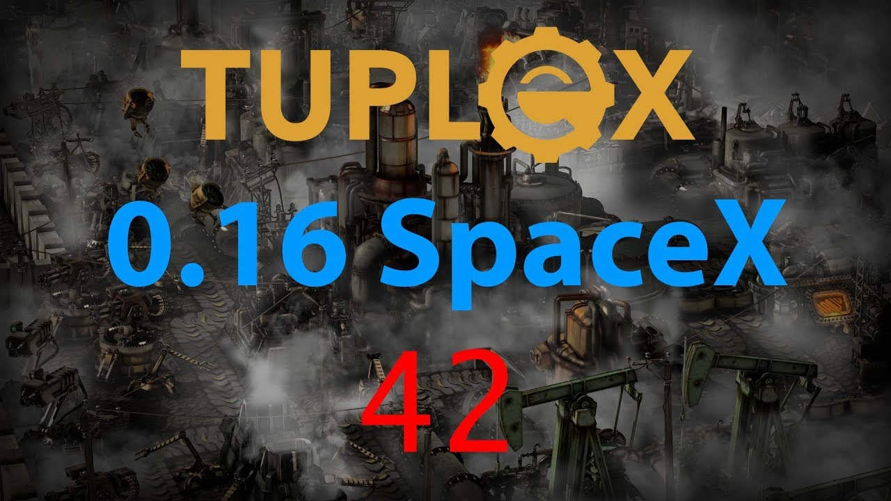 Factorio SpaceX Let's Play #42 - Red circuit design by Tuplex