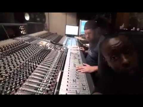 Eddy Kenzo in studio