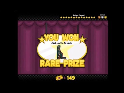 Papa's Bakeria - Foodini's Mini-Games: Strike Out - Bronze, Silver & Gold Rare Prize!