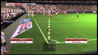 Pro Evolution Soccer 2014 demo gameplay [PS3]